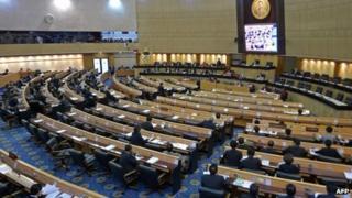 File photo: Parliament in Thailand