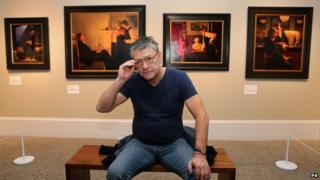 Jack Vettriano exhibition