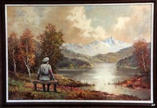 Banksy oil painting