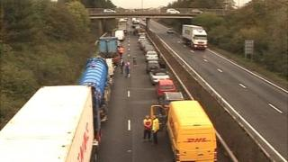 Congestion on A14