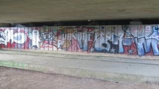 "Bridport ""good graffiti"""