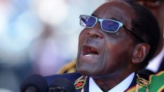 Zimbabwean President Robert Mugabe (22 August 2013)