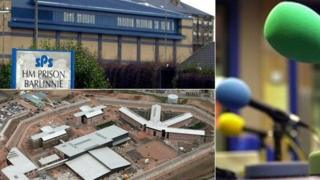 Barlinnie Prison and soon-to-be-opened HMP Grampian