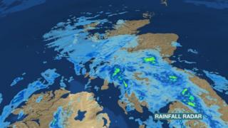 Rainfall radar