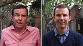 John Sudworth, in 2012 and 2013