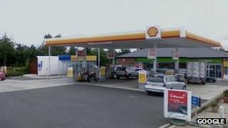 Frilford Heath petrol station