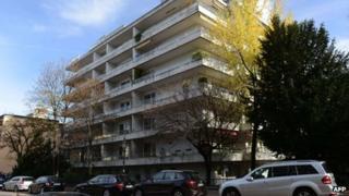Munich apartment block where hoard was found