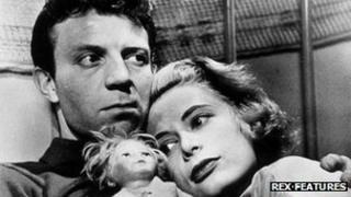Irene Kane with Jamie Smith in Killer's Kiss