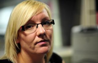 Danielle Uren, mother of Mackenzie Cackett