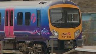 First Transpennine Express train