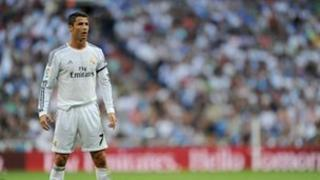 Cristiano Ronaldo at the Bernabeu