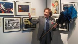 Ken Dodd at the Museum of Liverpool