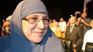 Naglaa Ali in a file photo
