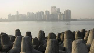 The coastal city of Mumbai faces a severe shortage of living spaces due to rising population