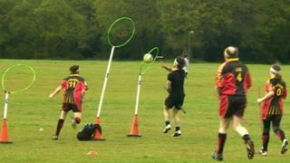 Quidditch game in Oxford