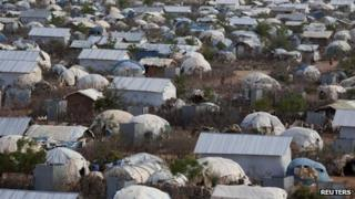 The Dadaab refugee camp, Oct 2013