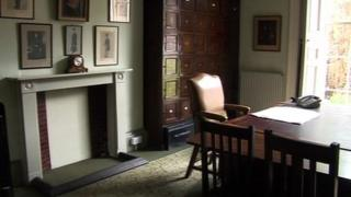Inside the solicitors' office
