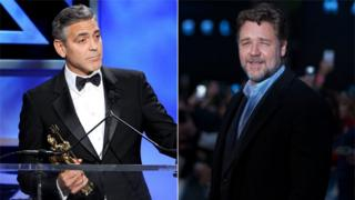 Clooney and Crowe