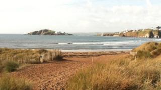 Bantham beach, Devon