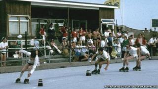 Dovercourt roller-skating rink