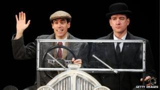 Stephen Mangan and Matthew Macfadyen in Perfect Nonsense