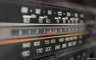 Front display of radio
