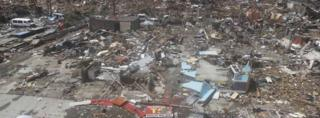Thousands of homes are destroyed in Tacloban