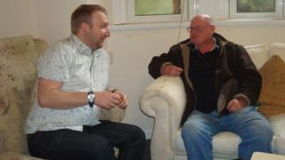 Clive Jones and Mark Canning at Glenlogie House