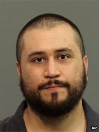 A booking image of George Zimmerman taken on 18 November 2013