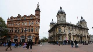 Hull city centre