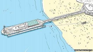 Zip-wire architectural diagram