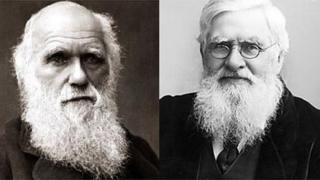 Charles Darwin ac Afred Russel Wallace