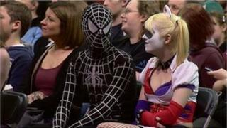 spidey at convention