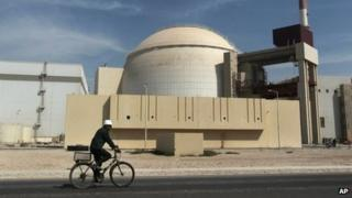 Reactor building at the Bushehr nuclear power plant (2010)