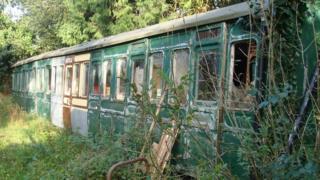 Birkin House Victorian railway carriage