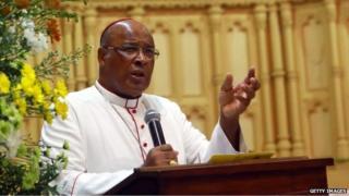 The Archbishop of Durban, Cardinal Napier