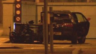 Bomb car at Victoria Square