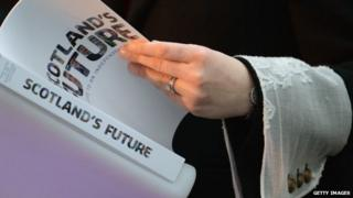 The Scottish government's white paper on independence