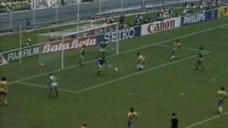 Brazil v Northern Ireland 1986