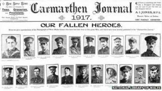 Calendar for 1917