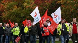 Grangemouth protests