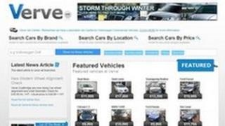 Verve website