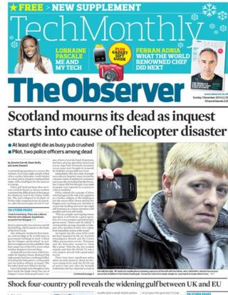 Observer front page 1/12/13