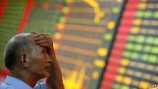 Chinese investor in despair