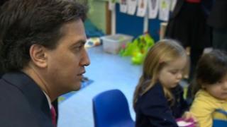 Ed Miliband in Crawley