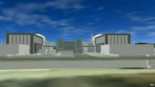 Computer generated image of Hinkley C