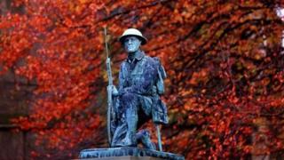 War memorial in County Durham