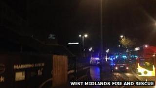 Fire at Masshouse lane