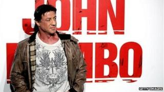 sylvester stallone launches John Rambo