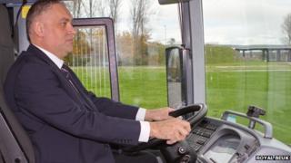 Royal Beuk coach driver